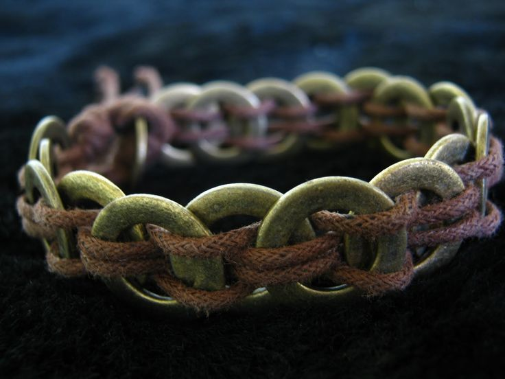Washer and Hemp Bracelet
