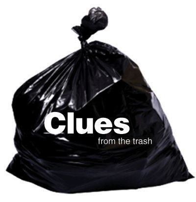 """Inference game: Put """"clean"""" garbage in a bag for each group. Have group guess whose trash it is, how many people might live the house, what their interests are, etc. all by using their inference skills of the evidence set before them. This is also a good beginning of the year activity to introduce kids to CCSS's evidence-based answers. This could even be done at a writing station."""