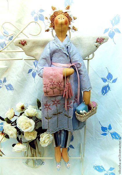 Куклы Тильды ручной работы. Банная Феечка. Одненко Виктория. Интернет-магазин Ярмарка Мастеров. Ванная комната, интерьерная кукла