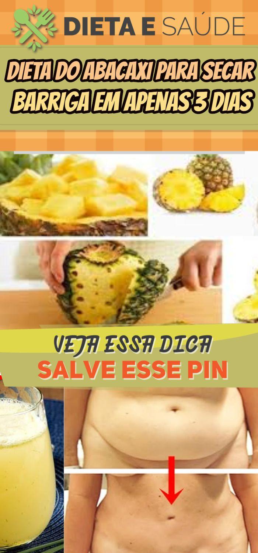 Dieta de ananas para emagrecer