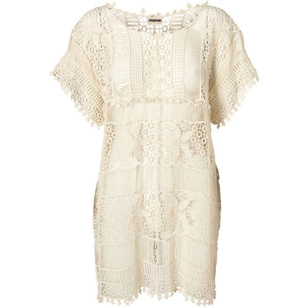 Vero Moda Glee S/S Short Dress - Nm* ($51) ❤ liked on Polyvore