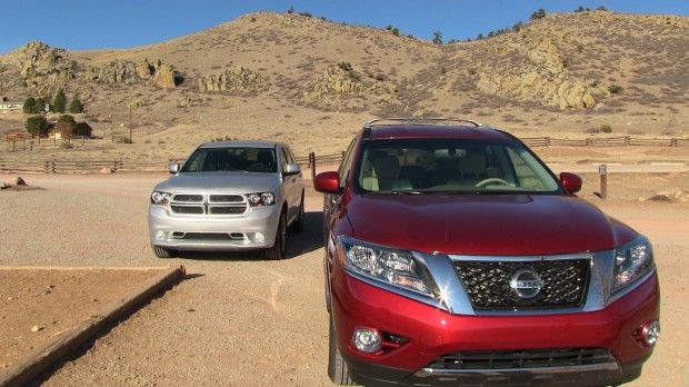 #2013 #Nissan #Pathfinder vs #Dodge #Durango 0-60 MPH Mile High #Mashup #Review by #tflcar