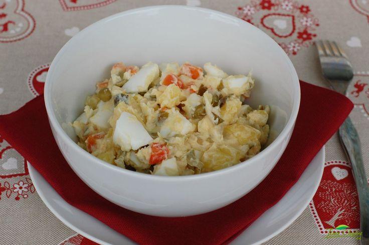 Dietní bramborový salát – JÍME CHYTŘE – Odborné výživové poradenství – Recepty