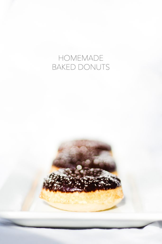 Homemade Baked Donuts | Strickly Darling | super yummy, healthy alternative to fried donuts, and very easy to make!