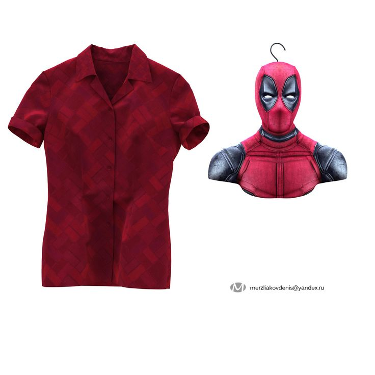 3d model deadpool for cnc and 3d printing