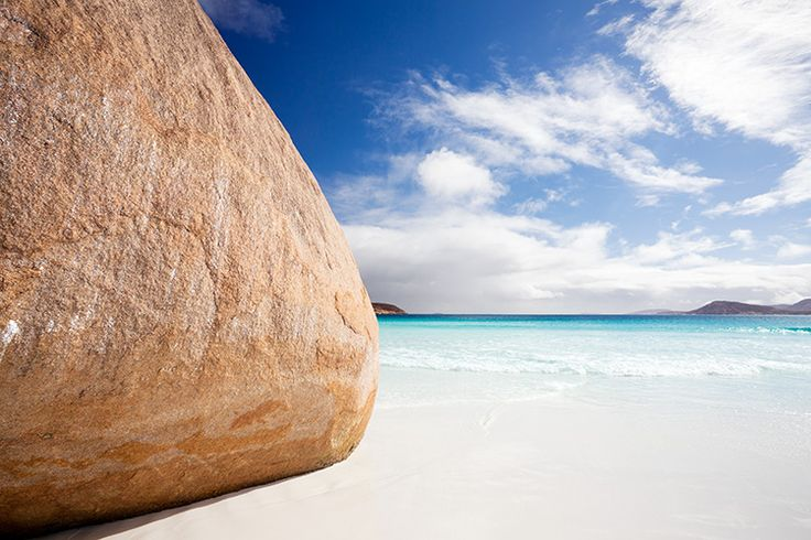 The rock at the end of Lucky Bay, worth the walk. Esperance, Western Australia