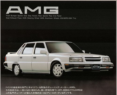 Mitsubishi Debonair by AMG brochure (1987)