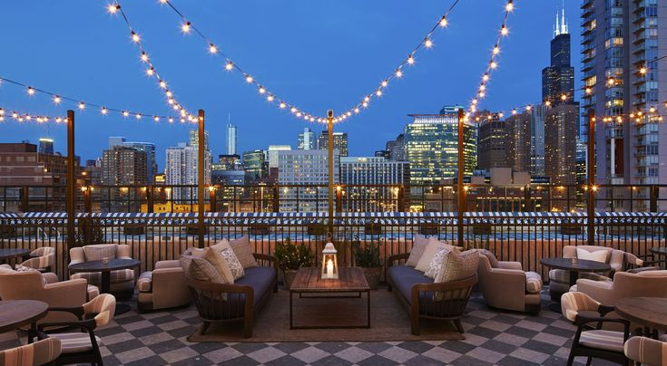 relax here • soho house chicago