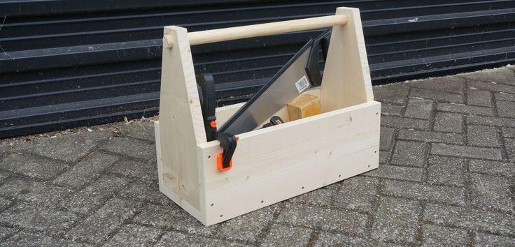 Machen Sie einen Werkzeugkasten aus Gerüstholz? Schritt für Schritt erklärt ✓ Geschickt …