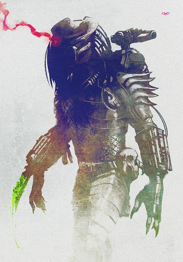 – Predator – by wyv1 on DeviantArt