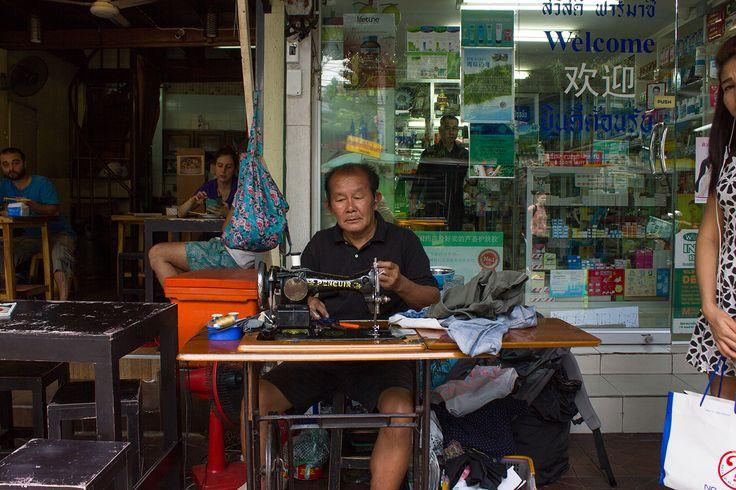 Couturier à Bangkok - Thailande