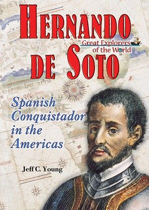 Hernando de Soto, a brave leader, a skilled fighter and an excellent strategist, was the first European to discover the Mississippi River.  Author Jeff C. Young relates tales of de Soto's bravery—and his brutality—as he set out to make a name for himself exploring Central America and helping fellow Spaniard Francisco Pizarro conquer Peru.