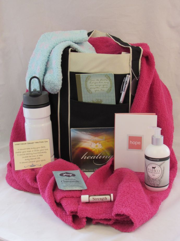 Gift Basket Cancer Woman