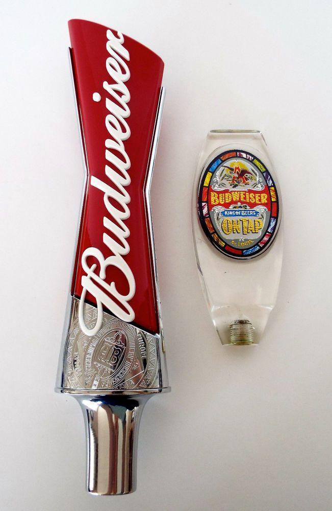 Budweiser Ice Light beer tap handle