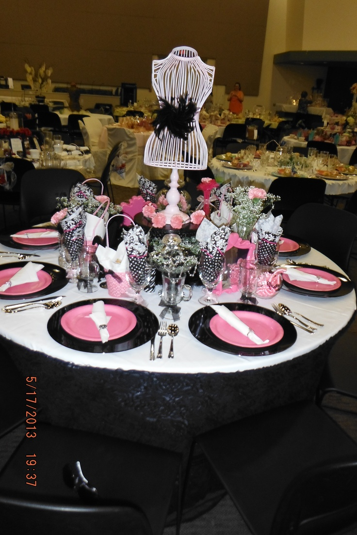 Creative Tables For The Ladies Tea At The Grove Church
