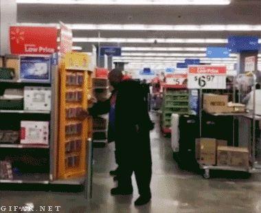 I wanna go to Walmart and Do This lmaooooooo