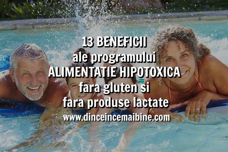 13 Beneficii ale programului Alimentatie hipotoxica