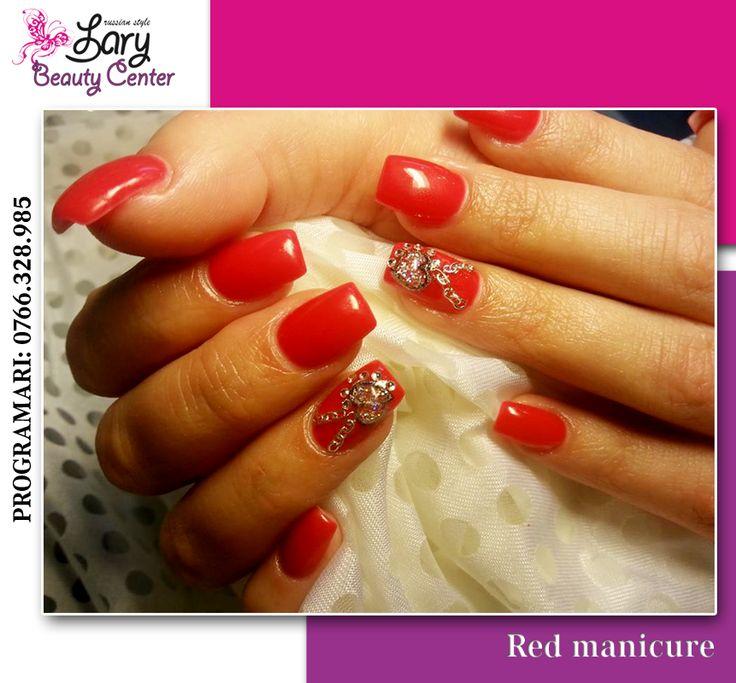 red nails http://www.larybeautycenter.ro/servicii/unghii-cu-gel-sau-acryl