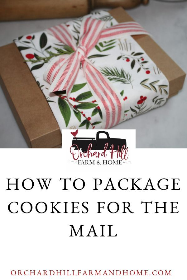 How To Package Cookies For The Mail Gift Giving Ideas Gift