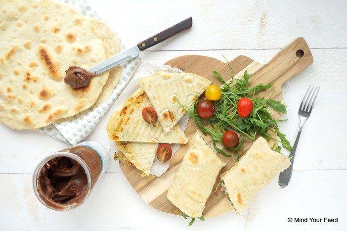 Italiaanse piadina – op 3 manieren