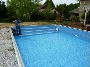 image result for above ground fiberglass pool kits - Above Ground Fiberglass Swimming Pools