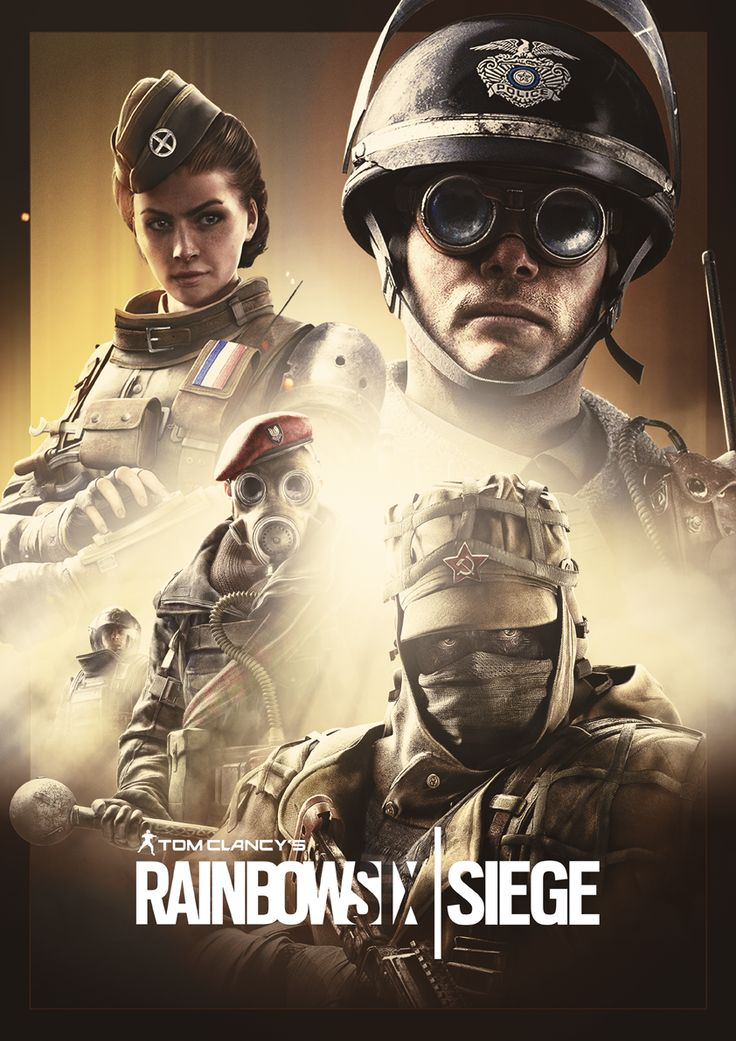 Siege poster composition - Elite operator skins by the ...