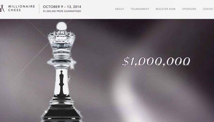 Millionaire Chess is the biggest open Chess Tournament having a total of $1,000,000 in prizes. Register now to participate in the best chess tournament of the year.