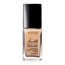 Avon Ideal Flawless Invisible Coverage liquid foundation- by far my favourite!