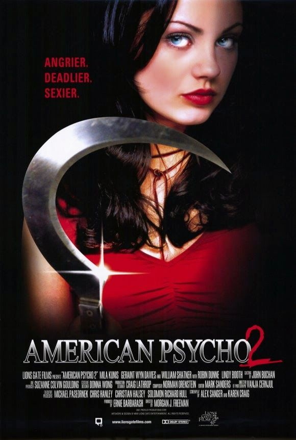 """FULL MOVIE! """"American Psycho 2"""" (2002) 