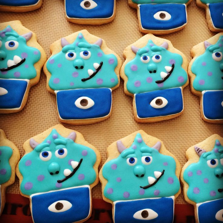 Sully cookies monsters inc