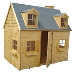 Maisonnette en bois Rosalie Egalement vendue chez Castorama. Avec une mezzanine!!!