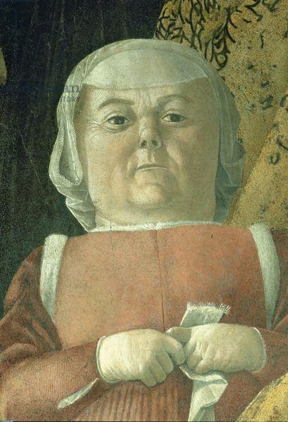 Andrea Mantegna - Decorazione della Camera degli Sposi 1465 - 1474 -Affresco nel Palazzo Ducale di Mantova.