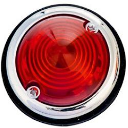 Auto-moto : Sécurité : Feux de gabarit 2 pièces rouge.Feux de gabarit utile pour remorque, auto, camion et véhicule agricole.Feux ronds plats.Feux de gabarit