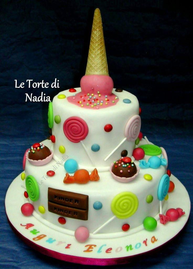 """Torta """"Tanti Dolcetti"""" Info: 389 9355816 anche WhatsApp"""