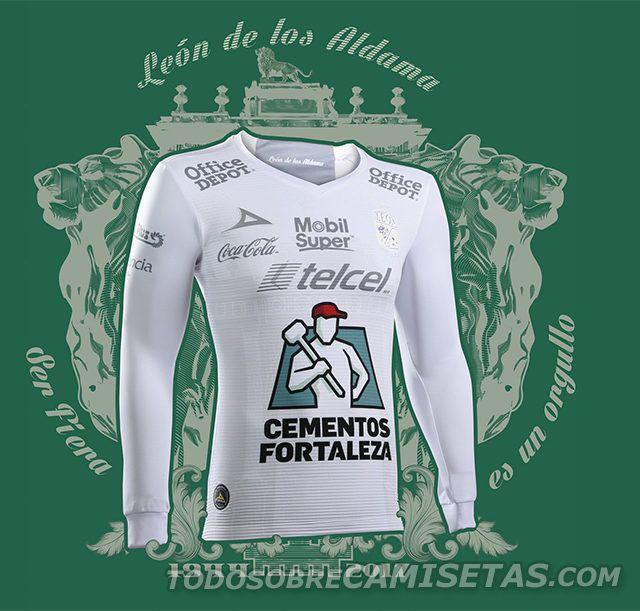 Uniformes Pirma de Club León 2017 - Todo Sobre Camisetas