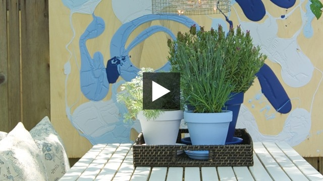 #BeautiTone Paint | Cheap & Cheerful #Patio Decorating | House & Home