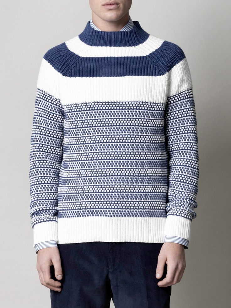 Rob Grace Style Report Burberry Brit sweater