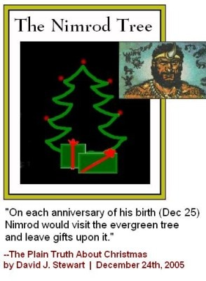 The Truth About Christmas...Nimrod was the king of Babylon..also the origin of false worship...