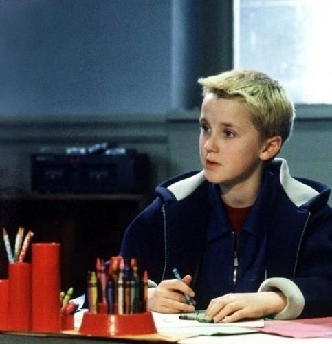 Aww, young Tom Felton!  He looks just like Jared as a little kid!
