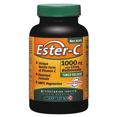 Ester-C 1000 mg – When my seven-year-old Rottweiler developed hip dysplasia, I read on the Internet that Ester-C was a remedy for this devastating disease. I have been giving it to my now ten-year-old Rottweiler for 3 years and it has allowed her to live a normal, mostly pain free life.