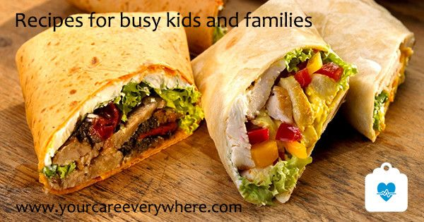 Try these quick and easy recipes to keep your kids eating healthy, even when you're all on the go.