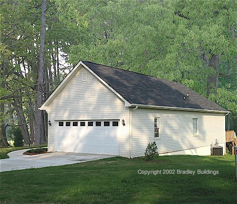 Shop With Living Quarters Story Metal Garage Plans