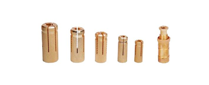 Round Stud Anchors Wood Anchors Pool Anchor Concrete Anchors Drop Anchor Sleeve Anchors Slotted Anchors Knurling Anchors
