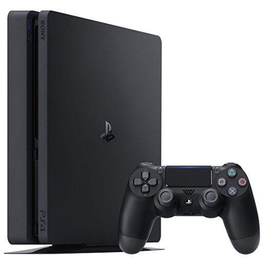 PlayStation 4 - Konsole (500GB, schwarz,slim) [CUH-2016A]