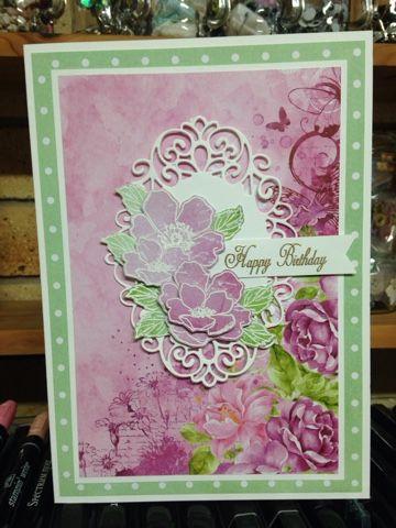"Marcie From ""Down Under"" : Elaine's Birthday Card."