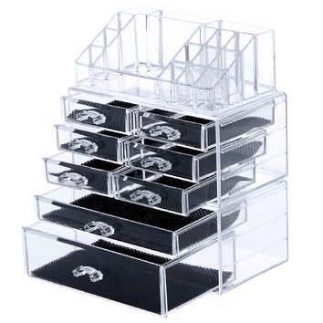 You'll love the 8 Drawer Makeup Organizer Cosmetic Storage Box at Wayfair - Great Deals on all Furniture products with Free Shipping on most stuff, even the big stuff.