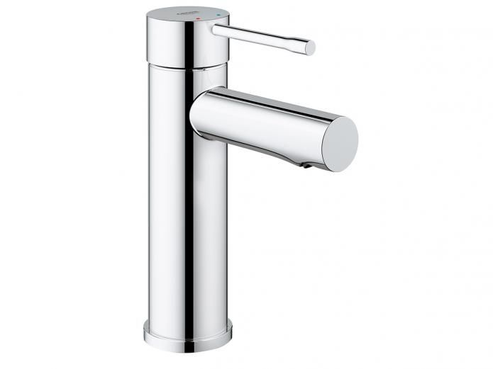 The Essence New Basin Mixer uses cylindrical form in exciting ways. In addition, GROHE SilkMove ensures balanced, effortless handling and GROHE StarLight offers technology for a made-to-last, diamond chrome finish.
