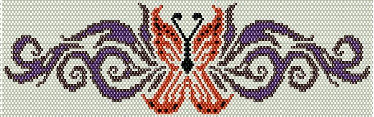 Плетения Бисером, Бисером