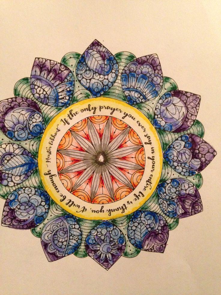 Dream Mandala #ColorLife