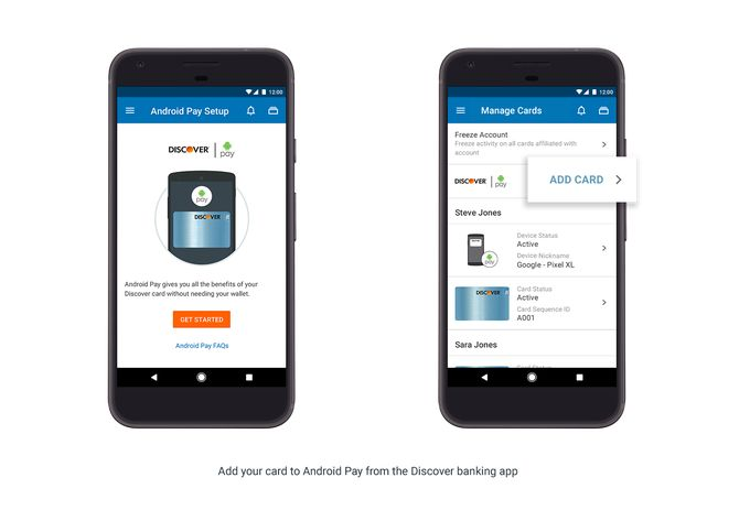 Android Pay now works in Bank of America USAA Discover & other mobile banking apps